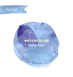 Abstract stylish watercolor background vector image vector image