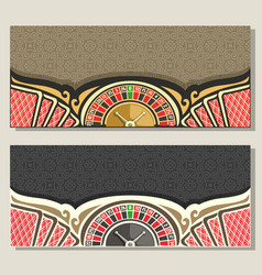 gamble banners vector image
