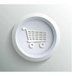 Icon shoping vector image vector image
