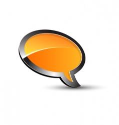 balloon conversation vector image