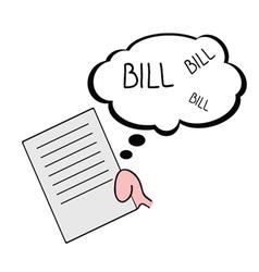 Bill color vector