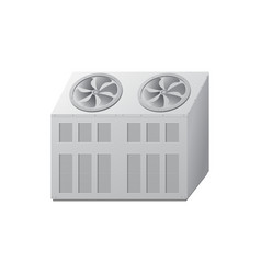 Chiller with fan for cooling vector