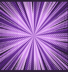 comic page abstract purple template vector image