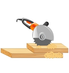 Electric tools cutter vector