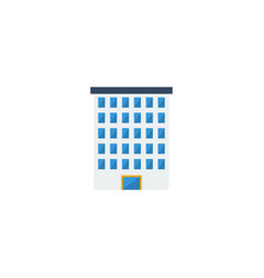 flat icon building element of vector image