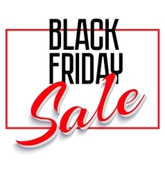 Sale Poster with Frame vector image