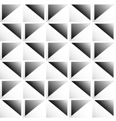 Seamless pattern with divided squares art vector