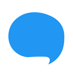 speech bubble chat message vector image