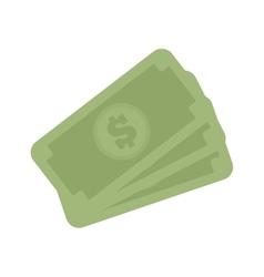 stack money dollar bills cash vector image