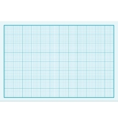 Graph Paper Background Design Flat vector image vector image