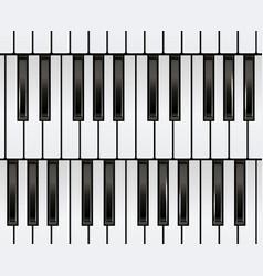piano keyboard seamless vector image