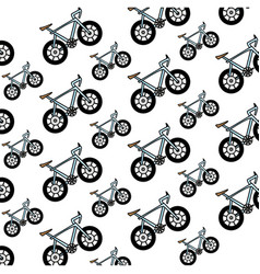 bicycle vehicle isolated vector image