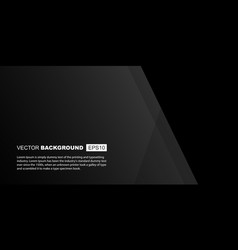 black minimalistic background composition vector image