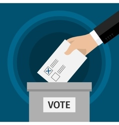 Concept of voting vector image