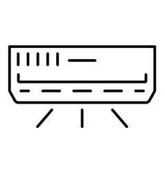 House conditioner icon outline style vector