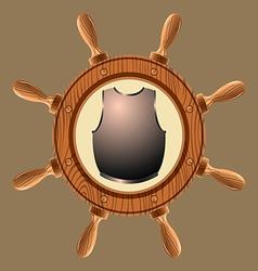 Icon pirate cuirass vector