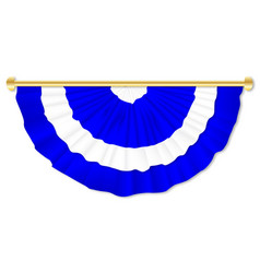 Scottish blue and white bunting vector