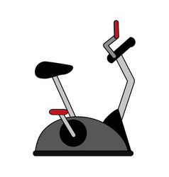 Spinning bike vector