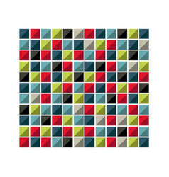 colores square background icon vector image