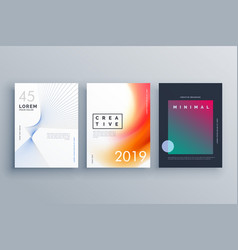cover template in minimal style with abstract vector image