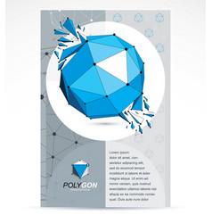 innovation technologies company presentation vector image