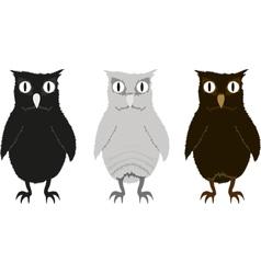 Owlets vector