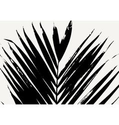 Palm Leaf Poster Design vector
