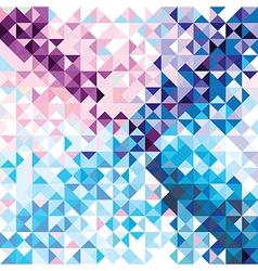 Retro seamless pattern geometric shapes vector