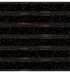 Seamless pattern of random gold dots vector