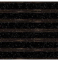 seamless pattern random gold dots vector image