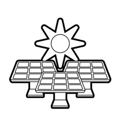 solar energy innovation vector image