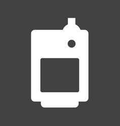 solid fuel boiler vector image