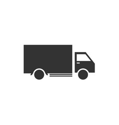 truck icon design template vector image