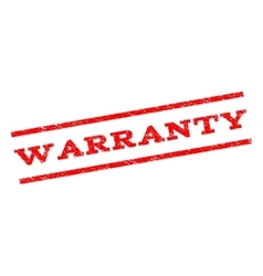 Warranty Watermark Stamp vector