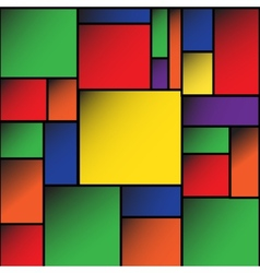 Colorful square blank background eps10 vector