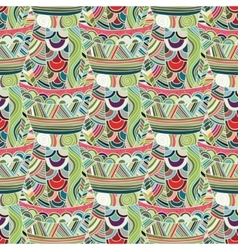 Mexican seamless pattern vector image vector image