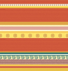 Striped Coloured Textile Backround Pattern vector image vector image