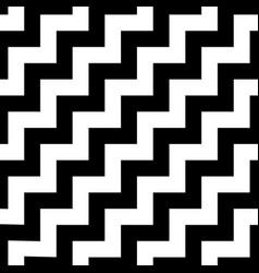 memphis style chevron zigzag seamless pattern vector image