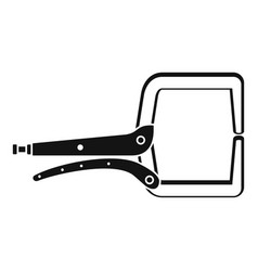 electrical cable tool icon simple style vector image