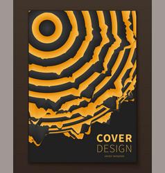 minimal distorted spheres covers design geometric vector image