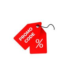 promo code voucher vector image