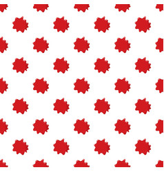 Red blood pattern vector