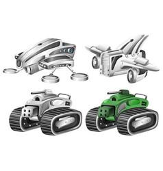 Set robot car vector
