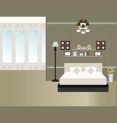 bedroom15 vector image vector image