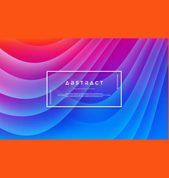 abstract modern dynamic background vector image