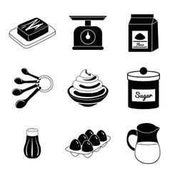 Baking icon design vector