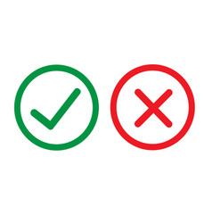 Checkmark icon design vector