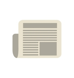 document paper office object instrument icon vector image