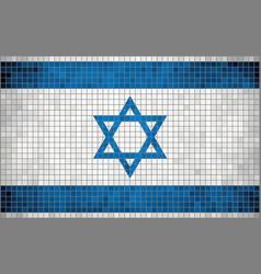 Flag of Israel vector image