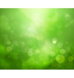 Green lights background vector